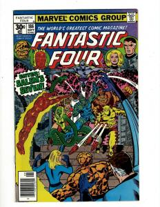 Lot of 8 Fantastic Four Marvel Comic Books #186 187 188 189 190 191 192 193 GK18