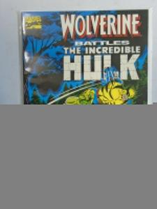 Wolverine Battles the Hulk #1 (1989 1st Print) 6.0/FN
