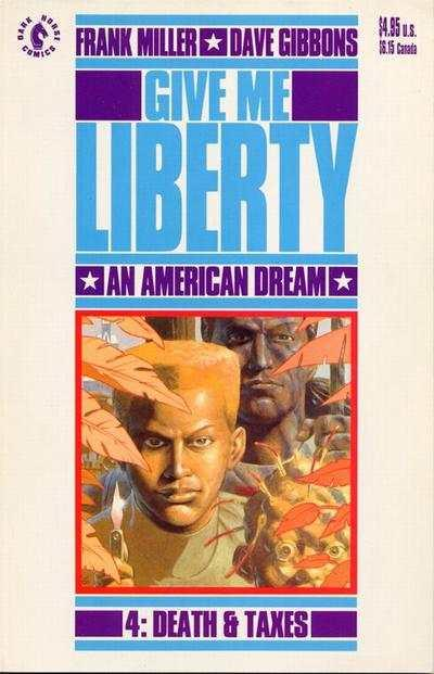 Give Me Liberty (1990 series) #4, NM (Stock photo)