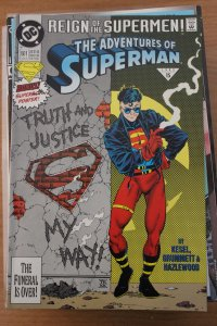 Adventures of Superman 501 9-4-nm