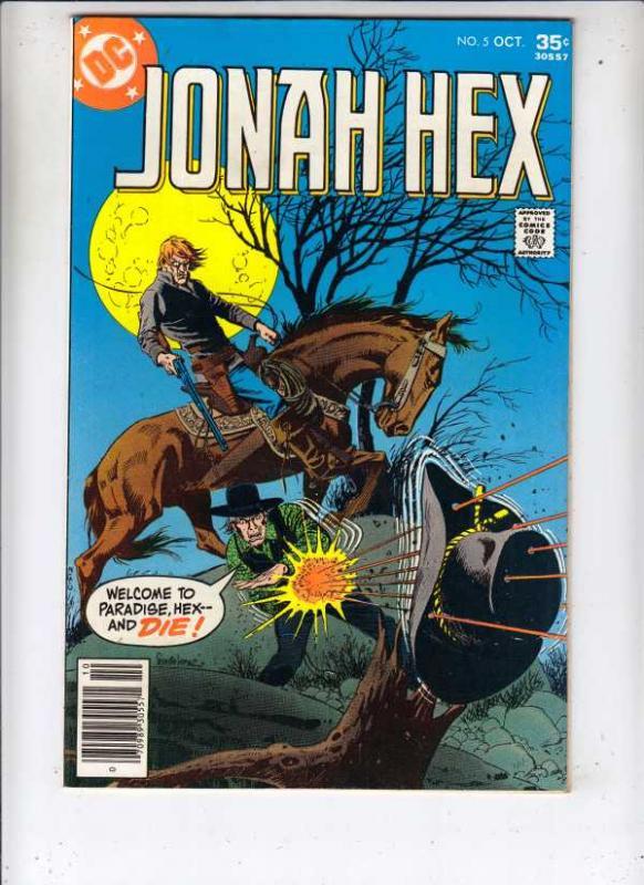 Jonah Hex #5 (Aug-77) VF/NM+ High-Grade Jonah Hex