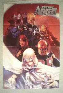 SECRET AVENGERS Promo Poster, 24x36, 2010, Unused, more Promos in store