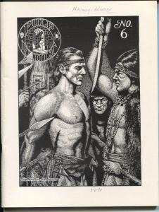 Pulp Vault #6 3/1989-pirate stories-High Seas adventure-Kioga-1st issues-FN