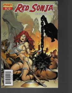 Red Sonja #10 (Dynamite) - Pablo Marcos Cover