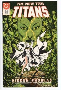 NEW TEEN TITANS #43, VF/NM, Hidden Phobias, DC 1984 1988  more DC in store