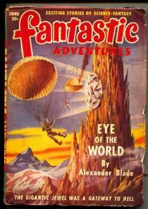 Fantastic Adventures-Pulp-6/1949-Alexander Blade-Charles Recour