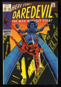 Daredevil #48 VF+ 8.5 White Pages Stilt-Man!
