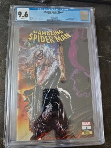 AMAZING SPIDER-MAN #1 CGC 9.6 TAN VARIANT UNKNOWN COMIC EXCLUSIVE