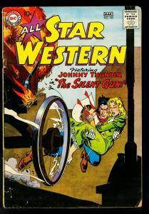 All Star Western #105 1959- DC Comics- Gil Kane- Johnny Thunder- G/VG
