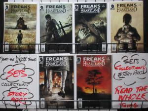 FREAKS OF THE HEARTLAND (Dark Horse, 2004) #1-6 VF-NM COMPLETE Niles/Ruth