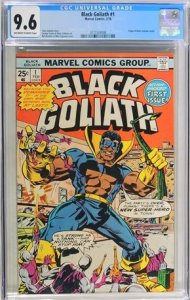 Black Goliath #1 (1976) CGC Graded 9.6