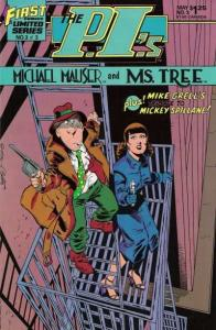 P.I.'s: Michael Mauser and Ms. Tree #3, NM (Stock photo)