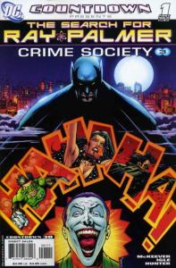 Countdown Presents: The Search For Ray Palmer: Crime Society #1 VF/NM; DC | save