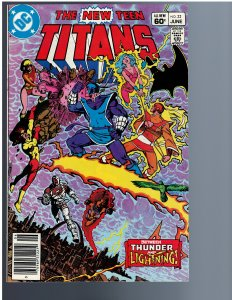 The New Teen Titans #32 (1983)