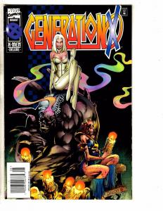 Lot Of 10 Generation X Marvel Comic Books # 6 7 9 11 12 13 16 18 19 21 XMen J263