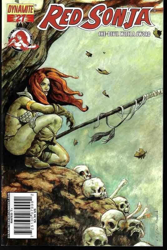 Red Sonja #27 (Dynamite Entertainment)- Homs Cover