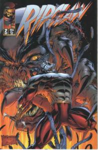 Ripclaw (Vol. 1) #2 VF; Image | save on shipping - details inside