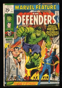 Marvel Feature #1 VG 4.0 1st Defenders!