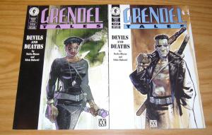 Grendel Tales: Devils and Deaths #1-2 VF/NM complete series - matt wagner set