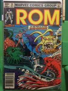 Rom Spaceknight #34