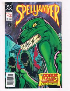 Spelljammer #3 VF TSR DC Comics Comic Book Nov 1990 DE23