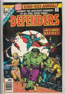 Giant-Size Defenders #1 (Jul-74) VF High-Grade Dr.Strange, Namor, Hulk, Silve...