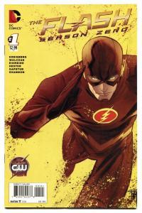 Flash Season Zero #1-2014 comic book DC