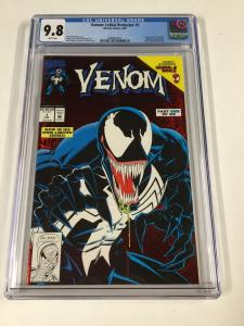 Venom Lethal Protector 1 Cgc 9.8 White Pages Marvel