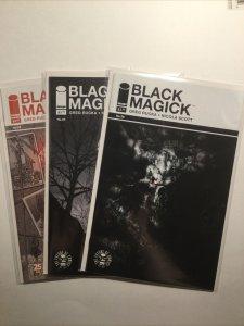 Black Magick 6 7 8 Lot Run Set Near Mint Nm Image Comics
