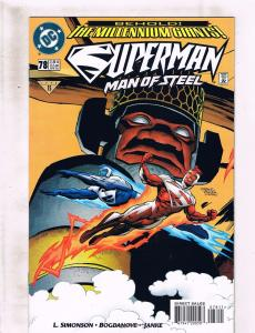 5 Superman Man Of Steel DC Comic Books # 78 79 96 97 103 RC6