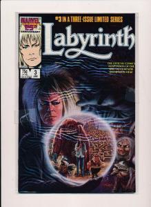 MARVEL LABYRINTH THE MOVIE Jan #3 VERY FINE+  (SRU681)