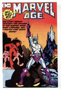 Marvel Age #1 comic book 1983-Marvel-Crystar-Walt Simmons-VF