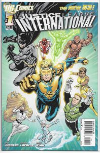 Justice League International   vol. 3   #  1 VF/NM (New 52)