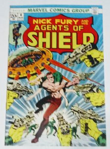 Nick Fury And His Agents of SHIELD #4 (7.5-8.0) 1973 Marvel Comics ID02H