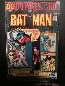 Batman #259 (1974) Mid-grade Giant-Size key! The Shadow! FN Wow