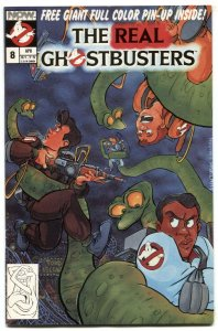 The Real Ghostbusters #8 1988- Now Comics FN+