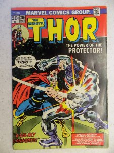 THE MIGHTY THOR # 219 MARVEL GODS JOURNEY ACTION ADVENTURE