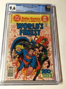 Worlds Finest 250 Cgc 9.6 White Pages