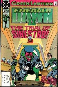 Green Lantern: Emerald Dawn II #6, VF+ (Stock photo)