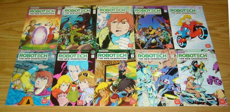 Robotech: the New Generation #1-25 VF/NM complete series - comico comics set lot