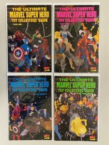 Ultimate Marvel Super Hero Toy Collectors' Guide set #1-4 6.0 FN (1995)