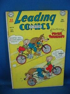 LEADING COMICS 39 F PETER PORKCHOPS 1949