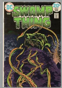 SWAMP THING 8 VG-F Feb. 1974