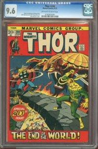 Thor #200 (1972) CGC Graded 9.6 - Ragnarok issue