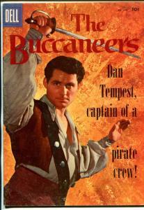 Buccaneers-Four Color Comics #800 1957-Dell-Robert Shaw-FN-