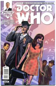 DOCTOR WHO #9 A, NM, 12th, Tardis, 2014, Titan, 1st, more DW in store, Sci-fi