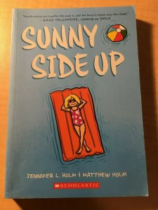 Sunny Side Up Scholastic Comic Book TPB Graphic Novel Jennifer and Matt MFT2