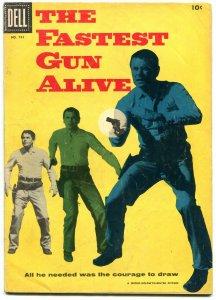 The Fastest Gun Alive- Four Color #741 1956- Glenn Ford VG-
