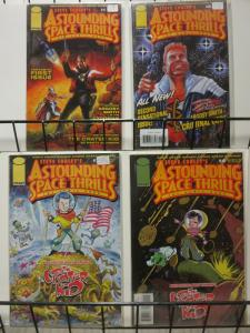 ASTOUNDING SPACE THRILLS THE COMIC BOOK (2000 IMAGE)1-4