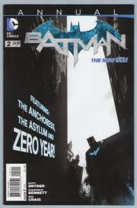 Batman Annual 2 Sep 2013 NM- (9.2) - New 52